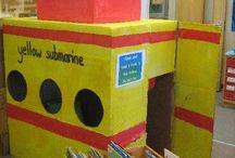 Teaching - reading corners