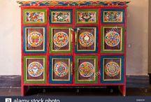 painted - repurposed furniture