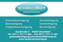 Gebäudereinigung Schweickardt / Firmenlayouts der Gebäudereinigung Schweickardt