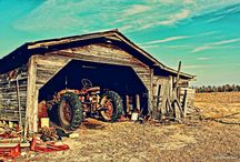 Tractor Barns / by Patricia Belyea