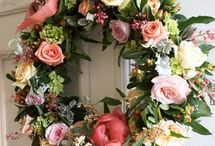 Floral wreaths / by April's Garden