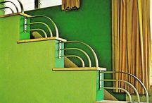 Art Deco / Art Deco colours, design, interior space, hotel
