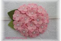 flores d fieltro