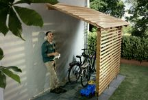 sykkelskur/bicycle sheds