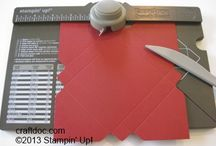 Envelope punch brd / by Stampin with J - Stampin' Up!
