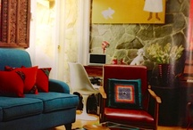 Favorite home design / My dream decor. It is all about vintage mood, colorful, simple cut.