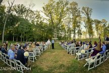 Kendal + Scott's 9.20.14 / Location: Lakeview Terrace at Foxhall Photographer: Zachary Toth Photography Caterer: Atlanta's Finest Catering