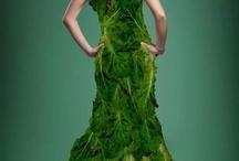 vegetal dresses