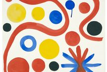 Alexander Calder / Alexander Calder, Circus, gouache and ink on paper…74