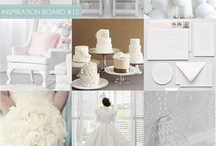 White Out / What's more appropriate for a wedding than the color white? Not much!  An all white wedding gives a clean, crisp look. It can be interpreted in both a modern or more traditional way. For more information on all of your wedding day needs, visit www.yourethebride.com. Happy planning! #white #wedding #yourethebride