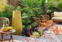 Trooppinen puutarha - Tropical Garden