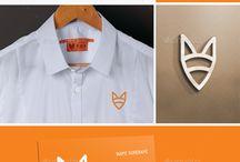Logo Fox / Идеи лого с образом лисички