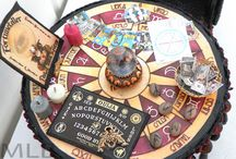 Dollhouse Miniatures-Fairy, Vintage and Steampunk