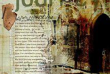 ART JOURNALING/MIXED MEDIA inspirations