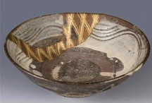 Kintsugi / Japanese art form where broken pieces of pottery are pieced back together with gold or silver.
