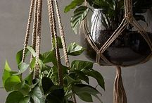 hanging flower macrame