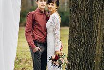 Марсала/ Marsala wedding / Свадьба, марсала, Бордо, бордовый, церемония. Wedding, Marsala.