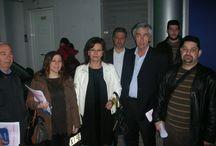 """11-3-2014 Κοινωνικές Δράσεις στην Δυτική Αττική από την Πρωτοβουλία """"Στηρίζω"""" / Κλιμάκιο της ΝΔ. με επικεφαλής τη Βουλευτή Νομού Καρδίτσας κ. Σκόνδρα Ασημίνα, και τα μέλη της ΔΗΜ Τ.Ο. Πετρούπολης και της ΟΝΝΕΔ Πετρούπολης, περιήλθε την Τρίτη 11  και Πέμπτη 13 Μαρτίου  στον κεντρικό εμπορικό δρόμο της Πετρούπολης. Διένειμε αναλυτικό πρόγραμμα με θέμα """" Κοινωνικές Δράσεις στην Δυτική Αττική """" και ενημέρωσε για την εκδήλωση, που θα πραγματοποιηθεί τη Δευτέρα 17 Μαρτίου στα γραφεία μας, με θέμα """" Ενημέρωση για τον καρκίνο του μαστού """" από εξειδικευμένους ιατρούς."""
