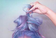 Cotten Candy unicorn magic hair