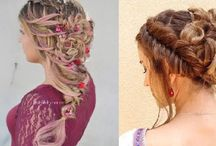 Boho Hairstyles / Boho (Bohemian) hairstyle collections