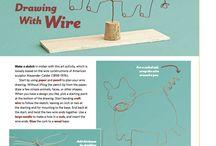 Art Lesson: Wire Sculptures