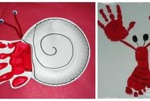 Footprint & Handprint art