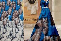 fashion fabrics and fashion dress / supplier