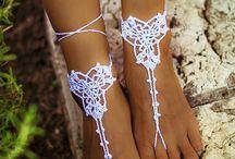 ozdoby na nohy,na ruce