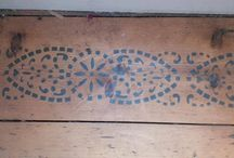 Decorative & Floor Stencils / Stencils for home decoration on walls, floors and soft furnishings