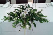 Wedding  top table flowers / Wedding flowers for the top table