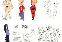 Ilustrasi karakter