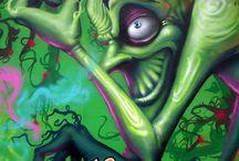 Tagging / Graffiti art  / by Tiff J