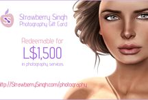 StrawberrySingh.com on SecondLife Marketplace / by Strawberry Singh