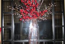 vianočná váza
