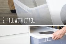 diy litter boxes