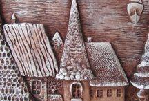 замки дома города