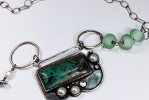 "Jewels on Etsy by madstarsilver / One of a kind, handmade ""jewels"". / by Marilyn Dorato"