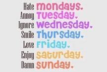 Weekly Feelings