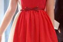 Fashion & Beauty - red dress