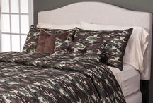 Contemporary Cabin Collection / Bedding inspired from the great outdoors