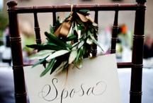 Rustic Italian Wedding [inspiration]