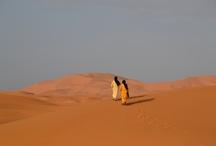 Merzouga / Menší městečko na jihovýchodu Maroka