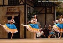 Ballet PEASANT costume