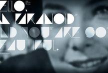 "inspiration: TYPE: GRAFIKWAR: ""PARANOID / A FREE FONT PROJECT"""
