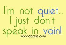 Quotes by Aurelie / www.dorelie.com