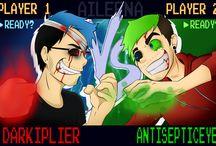 Darkiplier & Antisepticeye