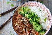 Ginger beef  ( Asian Food ) / Asian  food