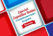 Zapatillas Botita: Moda para Hombres / by Calzados Batistella