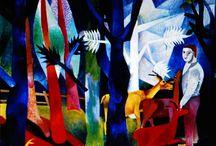 Der Blaue Reiter ~ Heinrich Campendonk