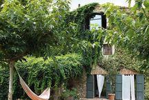 *backyard living / by Anne MacWilliams